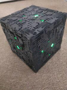 star trek XL Oversized Borg Cube light up model special edition Eaglemoss
