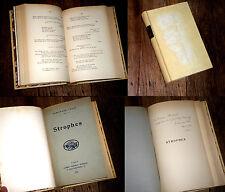 Strophes 1935 Ferdinand Lovio avec envoi signé rimes satires gaillardises
