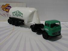 """Brekina 48022 # Mercedes-Benz LPS 338 """" Schwarzbau """" in grün-weiß 1:87 NEU"""