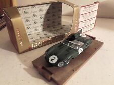 jaguar type D 24 heures du mans 1956 brumm r147 dans  sa boite