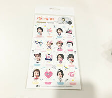 "TWICE Standing Photo Sticker 8 x 4"" 1 Sheets 16 Cuts Cute Momo Sana Tzuyu K-POP"