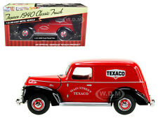"1940 FORD PANEL VAN ""TEXACO"" RED 1:32 DIECAST MODEL BY BEYOND INFINITY 0611"