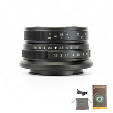 7artisans 25mm F1.8 Manual Focus Lens For Fujifilm FX Mount X-Pro2 E1 T10 T2