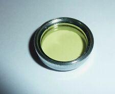 Gelbfilter  2x   E22,5   22,5mm