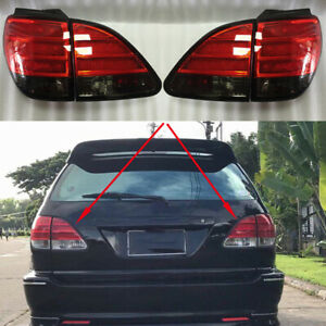 4Pcs Refit For Lexus RX300 1999-2003 Left & Right Side Taillights Lamps with LED
