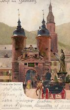 POSTCARD  GERMANY  HEIDELBERG    (Early Posting 1899)