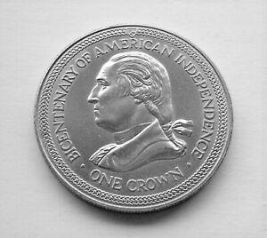1976 GEORGE WASHINGTON BICENTENARY OF AMERICAN INDEPENDENCE ISLE OF MAN CROWN