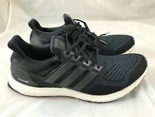 "Adidas Ultra Boost UltraBOOST ""Black"" V1 Black Shoes Trainers 10.5/US11 BN"