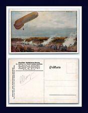 AVIATION GERMANY DEUTSCHER LUFTFLOTTEN BEREIN BY HANS RUDOLF SCHULTZE CIRCA 1915