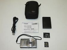 Canon PowerShot ELPH 160 20.0MP 8X Optical Zoom Digital Camera Bundle PC2197