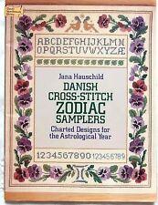 Danish Zodiac Samplers - Cross Stitch Book - Jana Hauschild - 1980