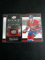 2020-21 Upper Deck Rookie Retrospective Nick Suzuki #RR-5 Montreal Canadiens