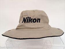 Nikon NPS Cotton Sun Block Hat M for Professional Outdoor Photography D4S D800