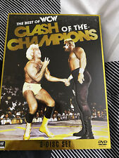 WWE: Best of WCW Clash of the Champions (DVD, 2012, 3-Disc Set)