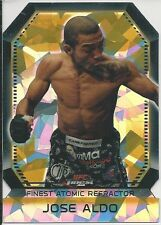 Jose Aldo 2011 Topps Finest UFC Atomic Refractors Card # FAR7