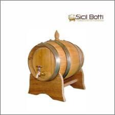 Botte in legno di castagno da 5 litri