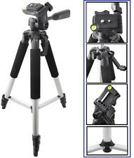 "57"" Pro Ser Tripod With Case For Sony HDR-CX130 HDR-PJ230 HDR-PJ260V HDR-CX580V"