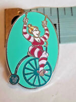 Disney HM Hidden Mickey Mickey's Toontown Cycling Big Wheels Unicycle Pin
