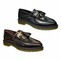 Dr Martens Adrian Mens Loafer Shoes Cherry Red or Black