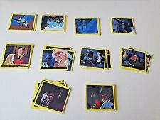 BATMAN : The ANIMATED SERIES.PANINI 1993 STICKERS.. LOT of 91 BATMAN STICKERS