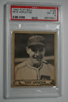 1940 Play Ball - Pete Appleton - #128 - PSA 4 - VG-EX