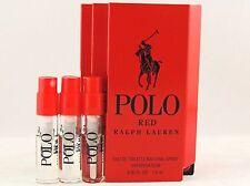Ralph Lauren Polo Red Intense 1.5ml .05fl Oz X 4 Cologne Spray ...