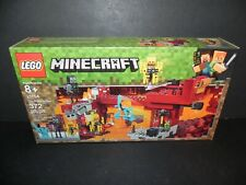 LEGO 21154 ~ MINECRAFT - THE BLAZE BRIDGE - 372 Pcs.  NEW Sealed Box ~ Free Ship
