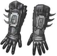 Rubie's Men's Arkham City Deluxe Batman Gloves, Black,, As Shown, Size One Size