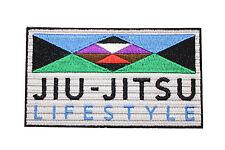 Jiu Jitsu BJJ Gi Patch JIU-JITSU LIFESTYLE Jiu Jitsu Gift IRON-ON Christmas