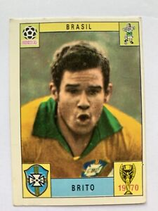Original Panini Mexico 70 1970 Brito Brasil Brazil Unused. One Of The Rare 80