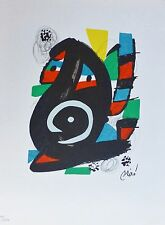 "Joan Miro ""La Melodie Acide"" I signed Hand numbered LITHOGRAPH 1980"