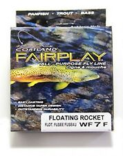 Cortland Fairplay Hi Speed Floating Rocket Taper Fly Fishing Line - WF 7 F NEW