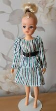 PEDIGREE 1984 'STRIPED SKIRT & TOP' (REF 43005) COMPLETE SINDY DOLL OUTFIT