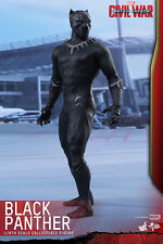 Hot Toys MMS363 Captain America Civil War 1/6th scale Black Panther Figure NIB