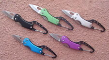 CARABINER FOLDING KNIFE  - SET OF 2 PC'S