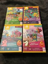 Complete Set 4 Lot Goldie Blox Build & Craft Lucky Nacho Katinka Benjamin Sealed