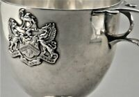 Worshipful Company of Grocers 925er Silber Pokal London 1906 Becher Zunft (P20)B