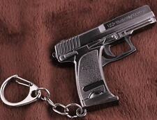 Classic UPS pistol Weapon Mini Gun Model Metal Keyring Keychain Key Ring Chain