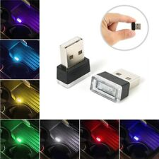 Mini USB LED Car Interior Light Neon Atmosphere Ambient Lamp Bulb Accessories 1X