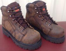 "Thorogood Mens Oblique 6"" Boot,804-4650, Size 4 1/2M Steel Toe"