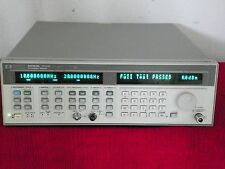 AGILENT HP 83752B .01-20 GHz SYNTHESIZED SWEEPER opt/1E1 1ED  cal data 5/17