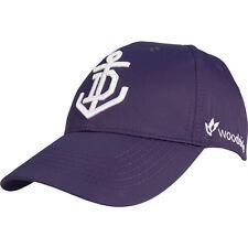 510862 FREMANTLE DOCKERS AFL 2016 MEDIA CAP ADJUSTABLE SUPPORTER HAT