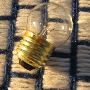 Clear S11 APPLIANCE LIGHT BULB 25 WATT 25S11 /CL E26 medium 25w incandescent