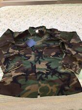 Propper BDU Woodland Camo Tactical BDU Coat Jacket XXL LONG  EXTRA EXTRA LARGE L