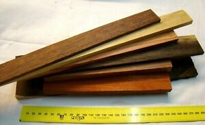 Holzleisten gemischt exotisch 1kg Bastelholz Schmuckholz