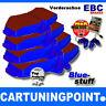 EBC FORROS DE FRENO DELANTERO BlueStuff PARA PEUGEOT 306 7e, N3, N5 DP5948NDX