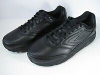 Brooks Addiction Walker 1100394E001 Mens Black Leather Shoes Size 9 4E