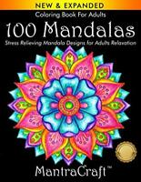 Coloring Book For Adults 100 Mandalas Stress Relieving Mandala Designs for Ad...