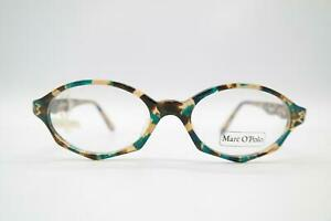 Vintage Marc O Polo by Metzler 004-717 Mehrfarbig Gold Oval Brille NOS