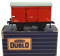 HORNBY DUBLO NO. 32040 GOODS BRAKE VAN TINPLATE - BOXED!